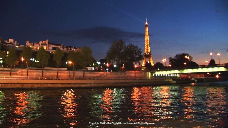 Paris France River Seine Cruise Dvd Virtual Experience